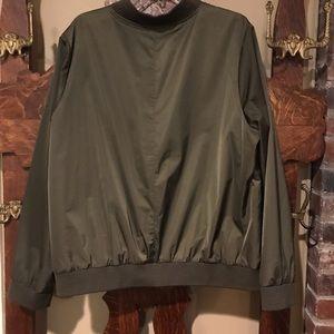Torrid Olive Bomber Jacket